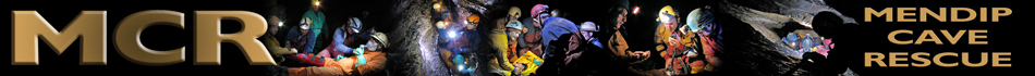Mendip Cave Rescue (registered charity number 1192357)